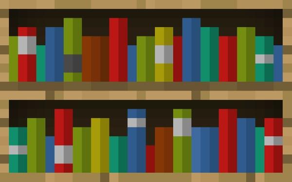 D Bookshelves Minecraft Blog - Bookshelves minecraft