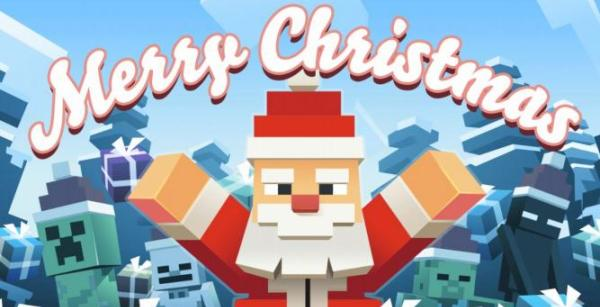 Minecraft Christmas.How To Celebrate Christmas In The Minecraft Game Minecraft Blog