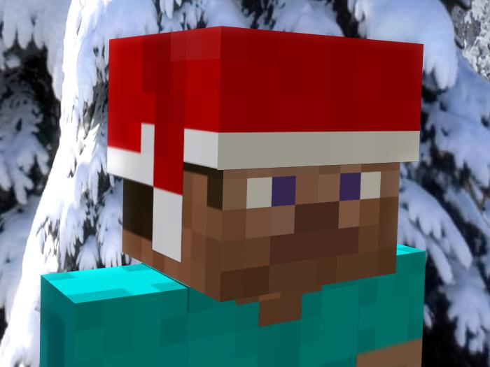 Christmas Minecraft Santa.How To Celebrate Christmas In Minecraft Minecraft Blog