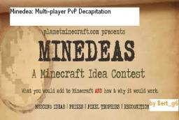 Minedea: Multi-Player Decapitation Minecraft Blog