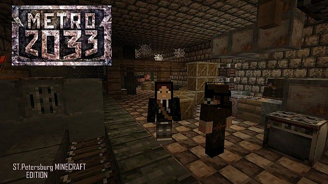 Metro 2033 St Petersburg Freeplay Map Minecraft Project