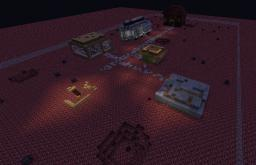 Rising Dead: Mob Survival Map Minecraft Project