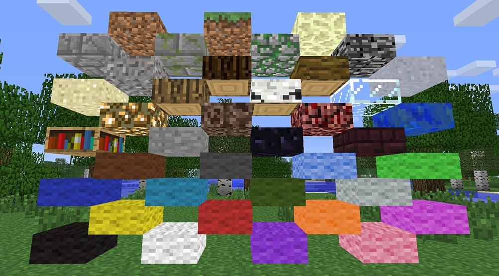 Mini Blocks Slabs For All Blocks Types Minecraft Blog
