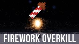 Minecraft Firework Show - 576 Fireworks every second!