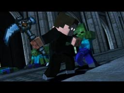 """Gods Don't Bleed"" - Minecraft Fight Animation Minecraft"
