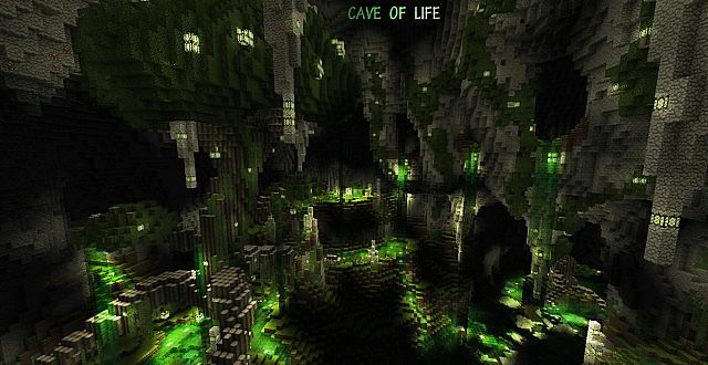 The Cave Of Life Caved In Contest Minecraft Project