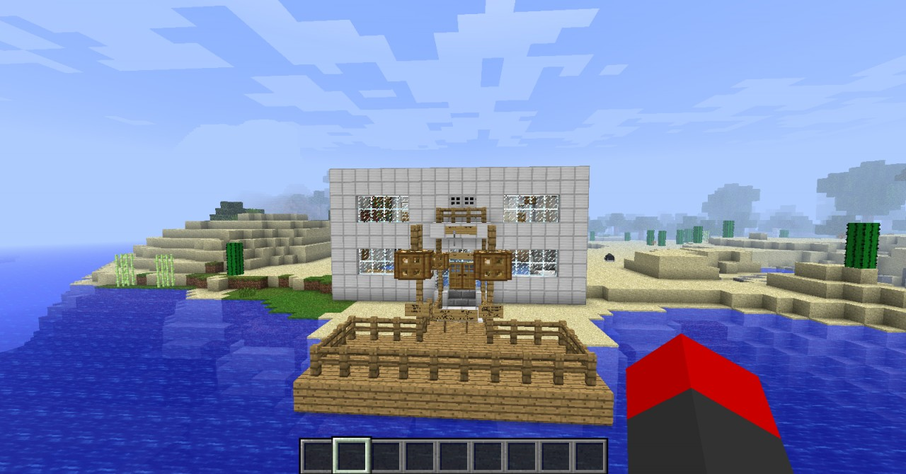 My Sexy Beach House Minecraft Project
