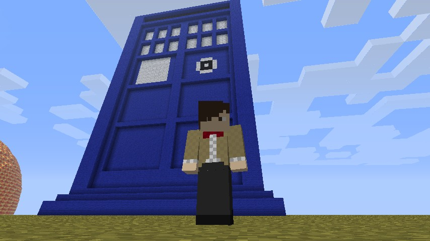 Tardis Doctor Who Minecraft Project