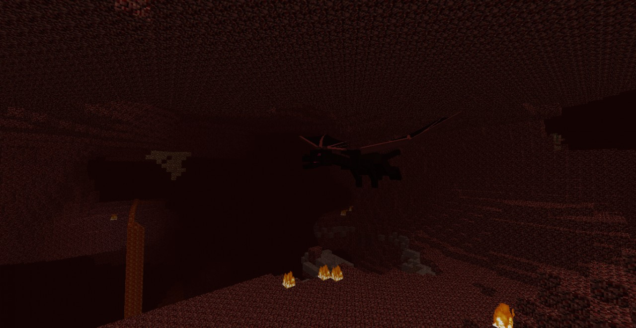 I Found An Nether Dragon Minecraft Blog
