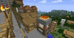Town of GodDamn Villager Minecraft Map & Project