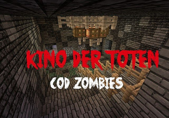 Kino Der Toten Cod Zombies Map Minecraft Project