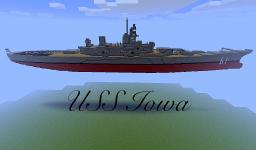 USS Iowa Minecraft Map & Project