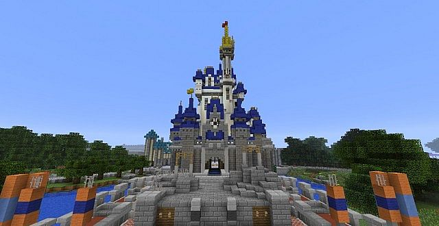 Walt Disney World Scale Replica Minecraft Server - Mcmagic us map download