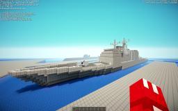 US Navy Ticonderoga class cruiser Minecraft Map & Project