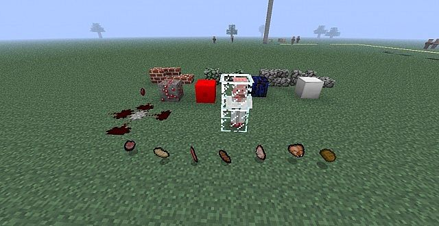 All the items I have textured so far. Gears and Pigmen are still in progress.