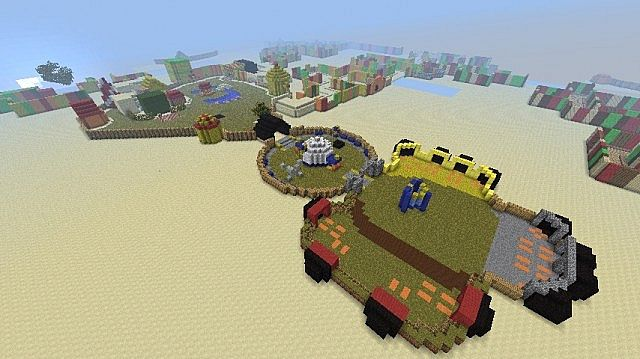 Best Toontown Minecraft Maps Projects Planet Minecraft
