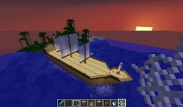 Huge ship Minecraft Map & Project