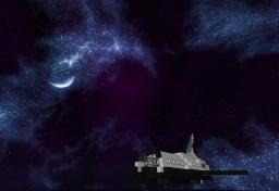 Minecraft Space Shuttle Minecraft Map & Project