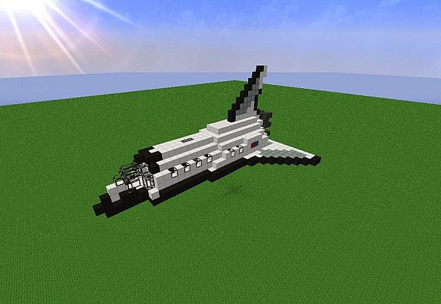 Minecraft Space Shuttle Minecraft Project