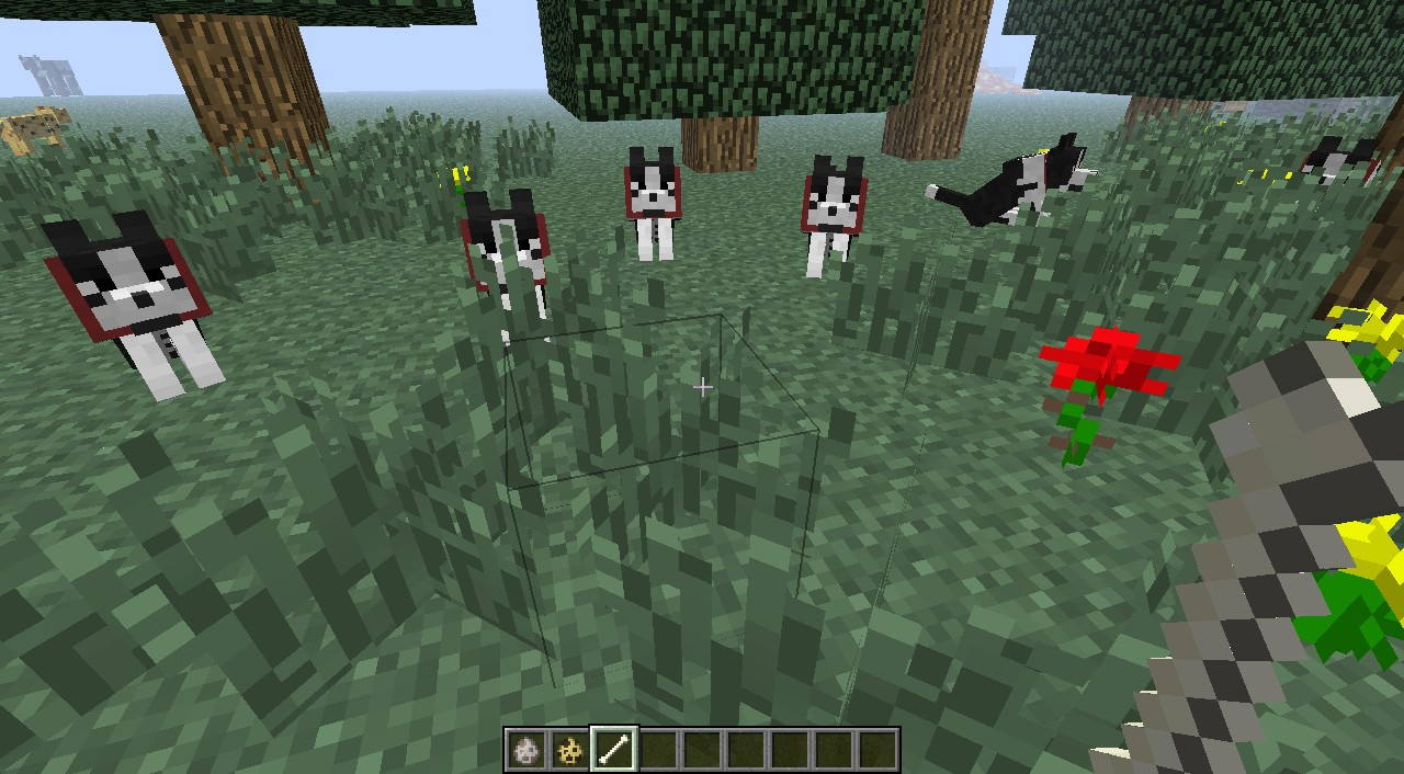 Random Mobs Dogs And Cats Minecraft Texture Pack
