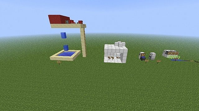 Accesories to put in your house! Minecraft Project
