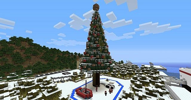 Operation Infinite Ocean】 - christmas time spawn Minecraft Project