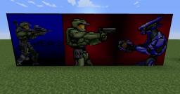 Halo Painting Pack [16x16] [1.4.6] Minecraft Texture Pack
