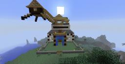 The home on the mountain By Alessandrios! Minecraft Map & Project