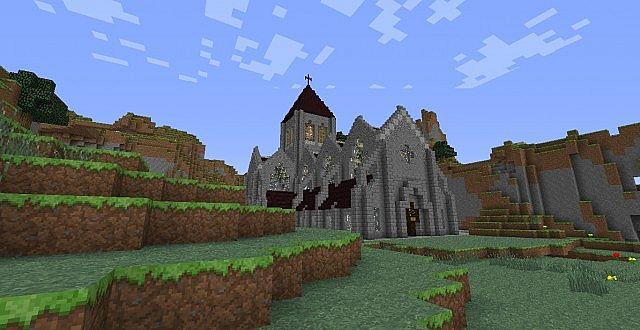 medieval church download minecraft