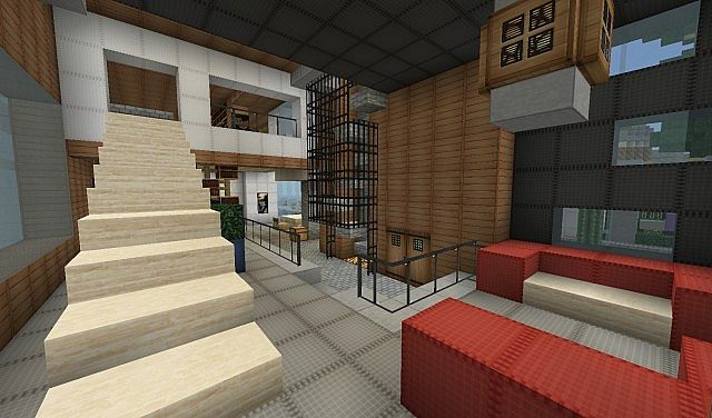 The hershey house world of keralis server minecraft project for Minecraft foyer ideas