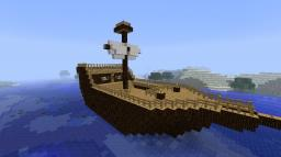 Minecraft Ship (Hand made!) Minecraft Map & Project