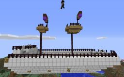 Spawn Ship Minecraft Map & Project