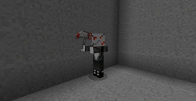 Axemen with his new axe