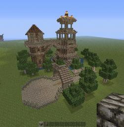 Medieval towers Minecraft Project