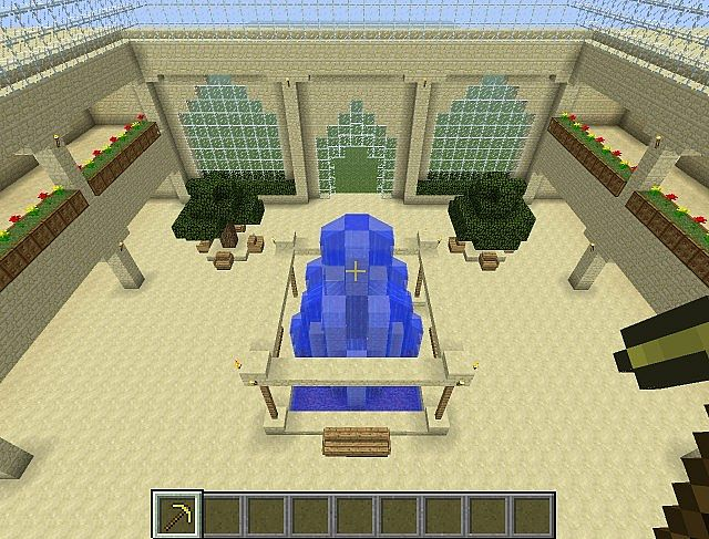 Admin Shop Mall Minecraft Project