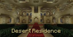 Desert Residence - Sandstone Villa Minecraft Map & Project