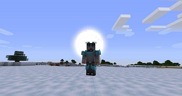 EDF Alpha Outcast - pack's default skin (with holo-armor)!
