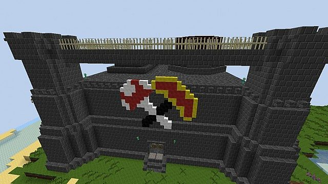 Tekkit Blackrock Keep Recreation Minecraft Project