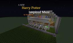 *NEW* Harry Potter Inspired Maze! Minecraft Map & Project