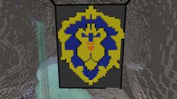 (WORLD OF WARCRAFT) HORDE VS> ALLIANCE Minecraft Map & Project