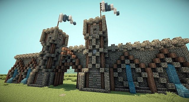 Medieval Gate By Antroz59 Minecraft Project