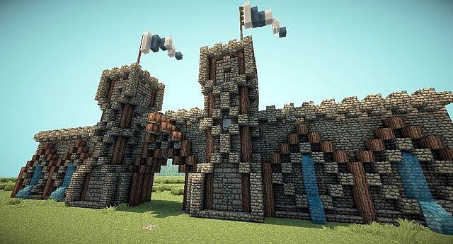 minecraft gate design. Beautiful Design Medieval Gate By Antroz59 With Minecraft Gate Design E