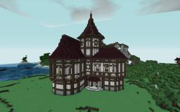 Medium House Inspired By Cheydinhal Style Architecture ( OBLIVION ) Minecraft Map & Project