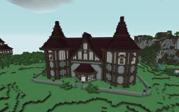 Big House Inspired By Cheydinhal Style Architecture (Oblivion) Minecraft Map & Project