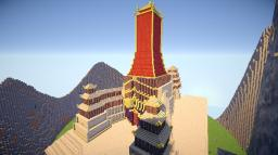 The Fire Nation Royal Palace | OUTDATED Minecraft Map & Project