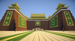 Earth Kingdom Royal Palace Entrance | OUTDATED Minecraft Project