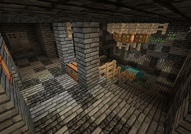 Top Of Stairs Spawn Room