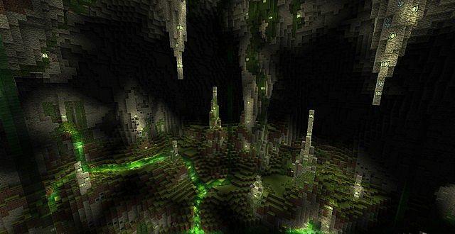 карты для майнкрафт прохождение в пещере