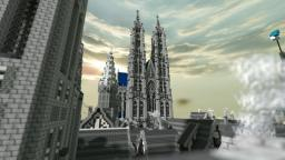 Cathedral of Arég Minecraft Map & Project