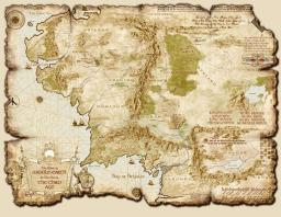 Middleearth Minecraft 1:1 Minecraft Map & Project